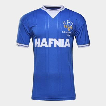 Score Draw Everton 1984 Copa FA Final Retro - Camiseta de Fútbol
