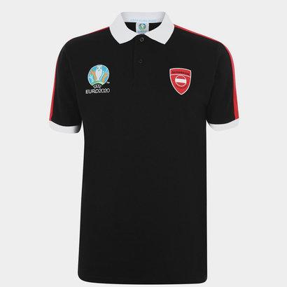 FIFA Euro 2020 Austria Polo Shirt Mens
