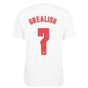 UEFA England Euro 2020 Grealish T-Shirt Mens