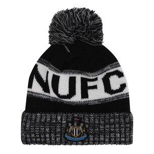 NUFC Newcastle United Home Crest Bobble Hat
