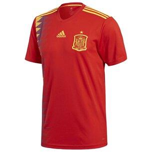 adidas Spain Home Shirt 2018