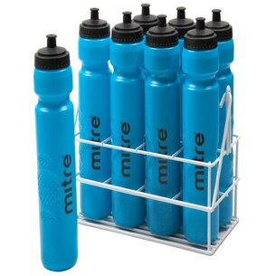 Mitre Metallic Crate 8 Botellas de Agua x 1ltr