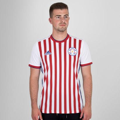 adidas Paraguay 2018 Home M/C Réplica - Camiseta de Fútbol