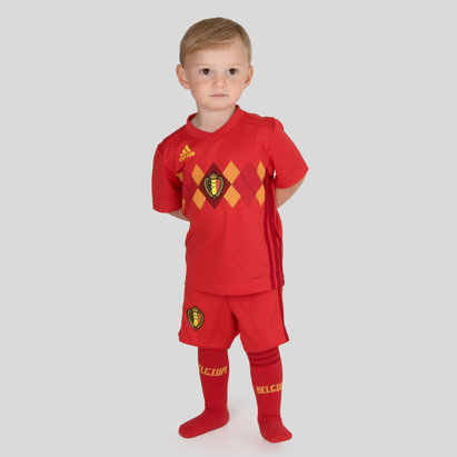 adidas Bélgica 2018 Home Mini Niños Réplica - Equipación de Fútbol