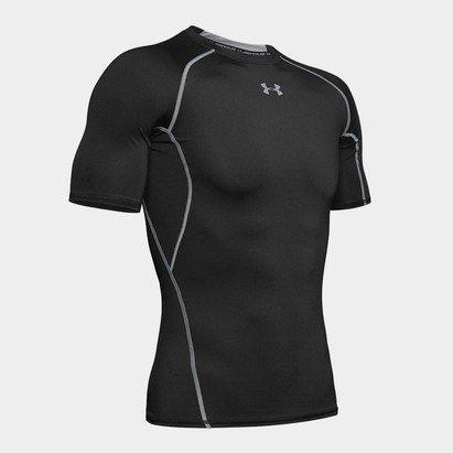Under Armour HeatGear Armour M/C - Camiseta de Compresión