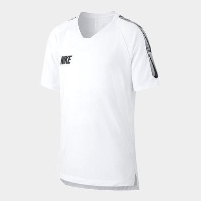 Nike Breathe Strike Big Kids Short Sleeve Soccer Top