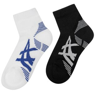 Asics 2 Pack Cushioned Socks