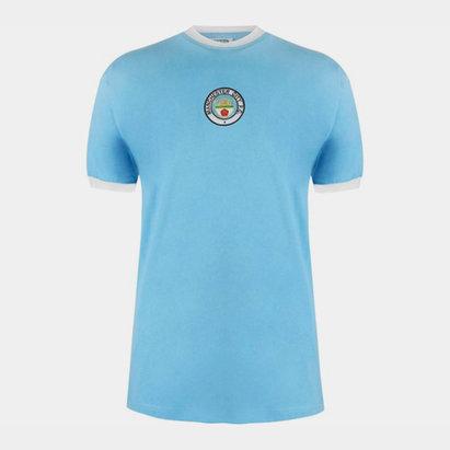 Score Draw Manchester City 1972 Home Shirt Mens