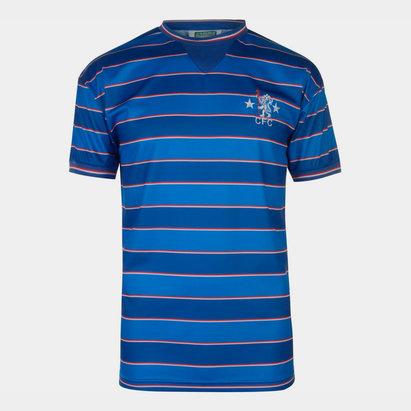Score Draw Chelsea 1984 Home S/S Retro Football Shirt