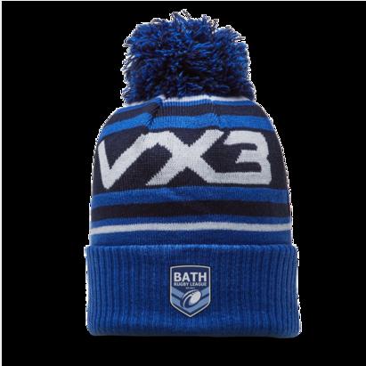VX3 Bath Rugby League Bobble Hat