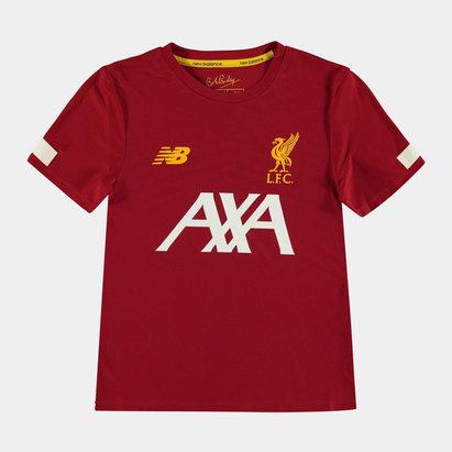 New Balance Liverpool 19/20 Kids Pre Match Football Shirt