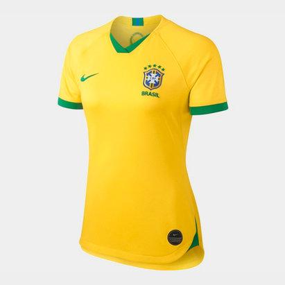 Nike Brazil Womens World Cup 2019 Home Shirt Ladies