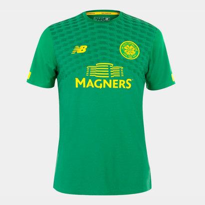 New Balance Celtic 19/20 Players Pre Match S/S Football Shirt