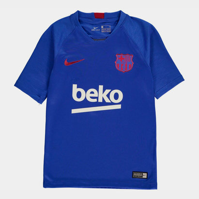 Nike Barcelona Strike T-Shirt 2019 2020 Junior