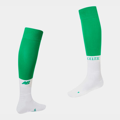 New Balance Celtic 19/20 Kids Home Football Socks