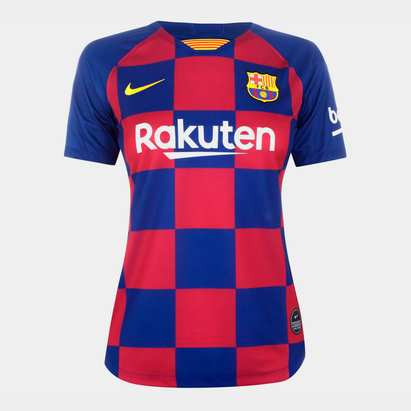 Nike Barcelona 2019 20 Stadium Home Womens Soccer Jersey