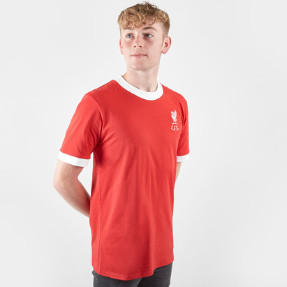 Score Draw Liverpool 1973 No 7 M/C Retro - Camiseta de Fútbol