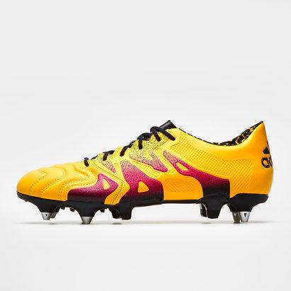 adidas X 15.1 SG Cuero - Botas de Fútbol