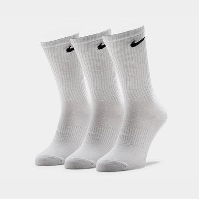Nike 3 Pack Ligeros Algodón Crew - Calcetines
