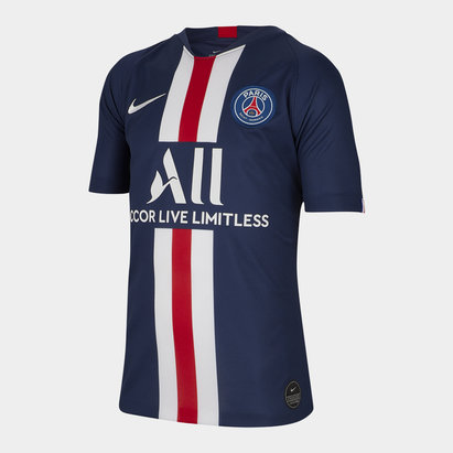 Nike Paris Saint-Germain 19/20 Home Replica Kids Football Shirt