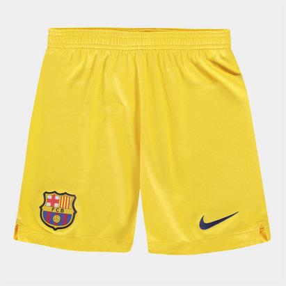 Nike FC Barcelona 19/20 Away Kids Football Shorts