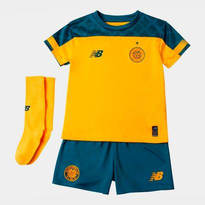 New Balance Celtic 19/20 Away Mini Kids Football Kit