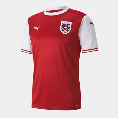 Puma Austria 2020 Home Football Shirt