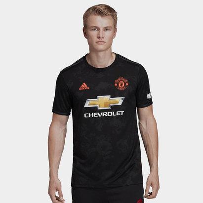 adidas Manchester United 19/20 3rd S/S Football Shirt