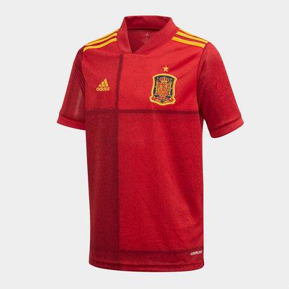 adidas Spain 2020 Home Kids Replica Football Shirt