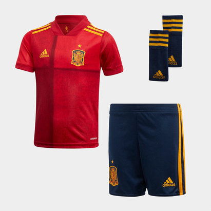 adidas Spain 2020 Home Mini Football Kit