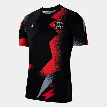 Nike Paris Saint-Germain x Jordan 19/20 Pre-Match Shirt