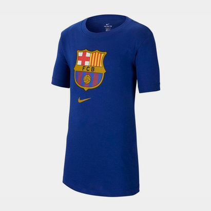 Nike Barcelona Crest T-Shirt 2019 2020 Junior