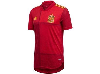 adidas Spain Home Authentic Shirt 2020