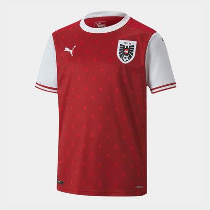 Puma Austria 2020 Kids Home Football Shirt