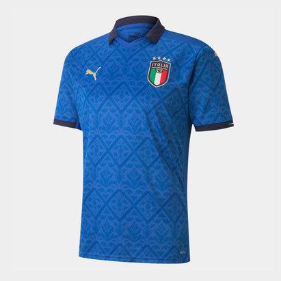 Puma Italy 2020 Kids Home Football Shirt