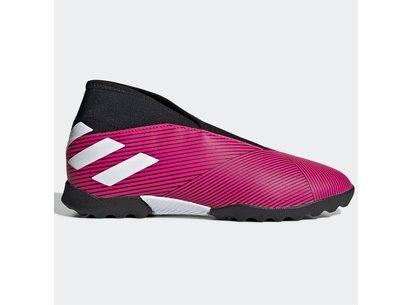 adidas Nemeziz 19.3 Junior Laceless Astro Turf Trainers