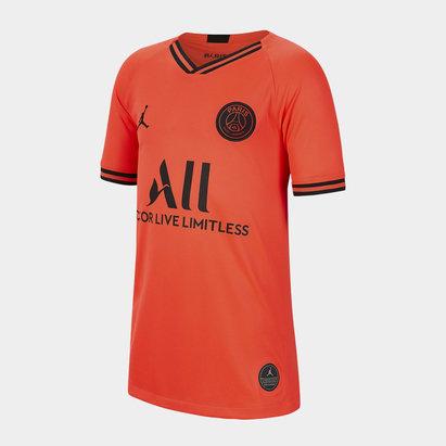 Nike Paris Saint-Germain x Jordan 19/20 Away Replica Kids Football Shirt