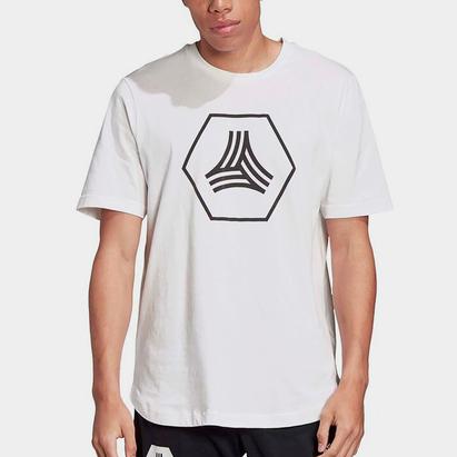 adidas Tango Logo T Shirt Mens