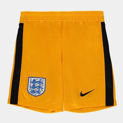 Nike England 2020 Kids Home Goalkeeper Football Shorts