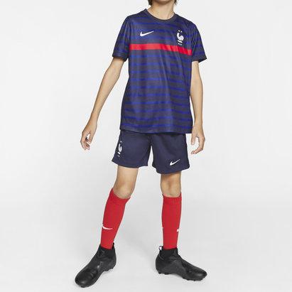 Nike France 2020 Home Mini Kids Football Kit