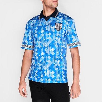 Score Draw England England 1990 Third Shirt Mens