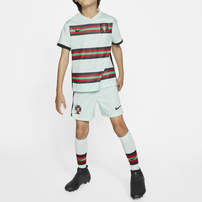 Nike Portugal 2020 Away Mini Kids Football Kit