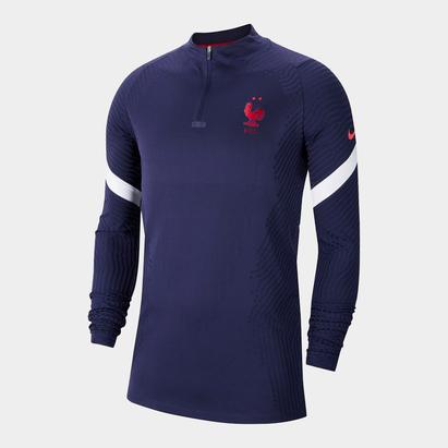 Nike France 2020 Vapor Knit Strike Drill Football Top