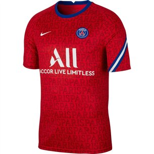 Nike Paris Saint Germain Pre Match Shirt 20/21