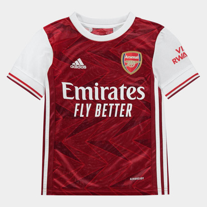 adidas Arsenal Home Shirt 2020 2021 Junior