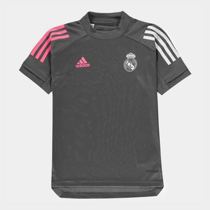 adidas Real Madrid Training Shirt 20/21 Junior