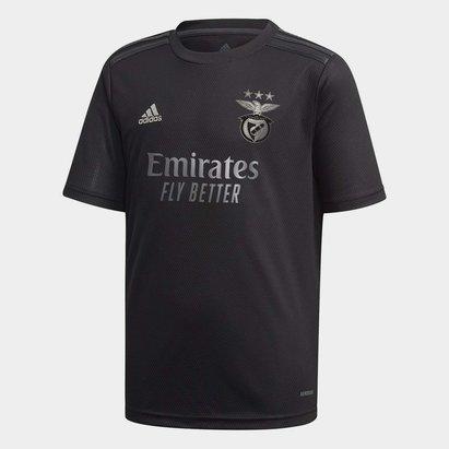 adidas Benfica Away Football Jersey Junior Boys