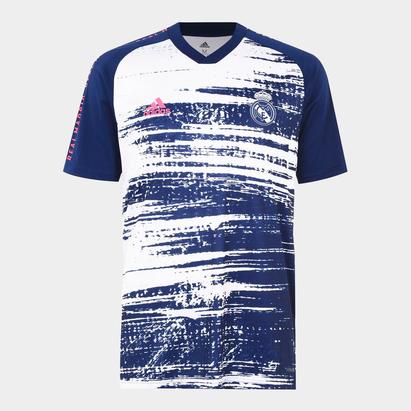 adidas Real Madrid Pre Match Shirt 20/21 Mens