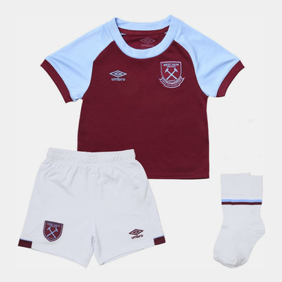 Umbro West Ham United Home Baby Kit 20/21