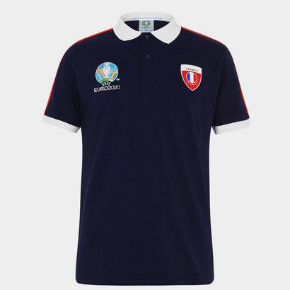 UEFA Euro 2020 France Polo Shirt Mens